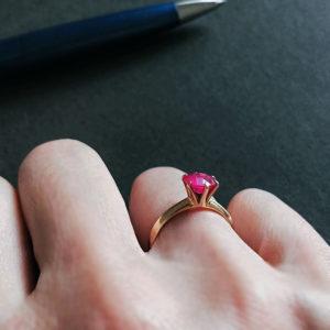 Todos_くらし_ルビーの指輪
